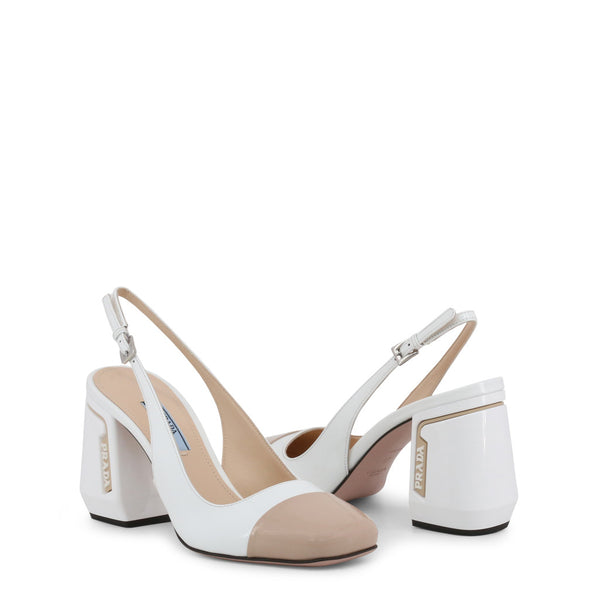 Prada Pumps White 1I223L F0YHC