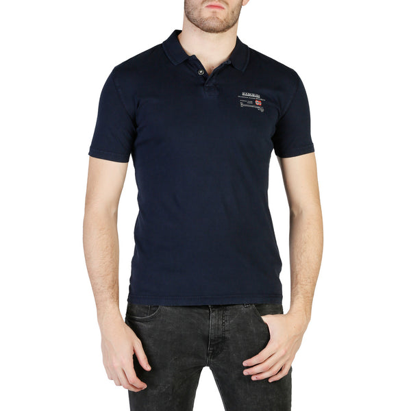 Napapijri Men's Polo Navy N0YHQK
