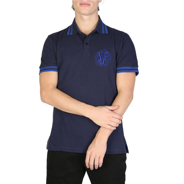 Versace Jeans Men's Polo B3GSB7P1-36571 Blue