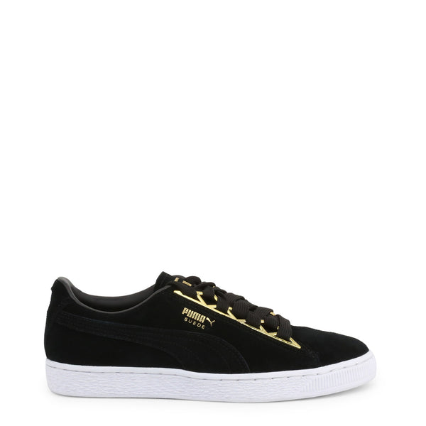 Puma Women's Trainers Black 366725-SuedeJewel