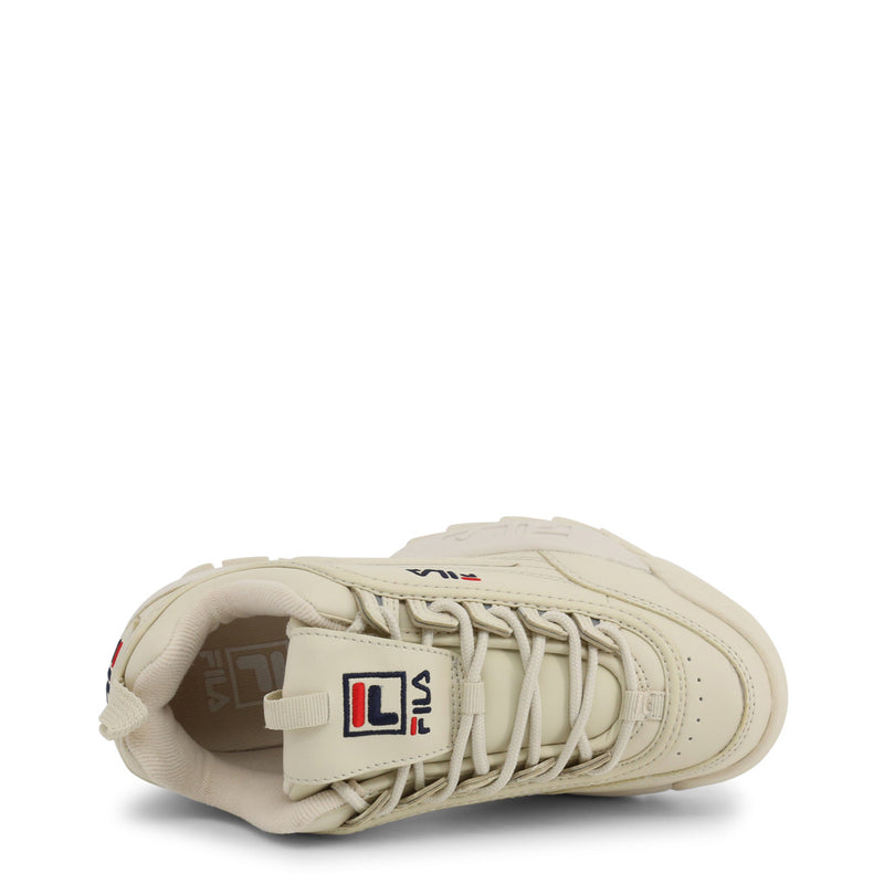 Fila Trainers Women's Disruptor (Ivory White) - LOW-1010302