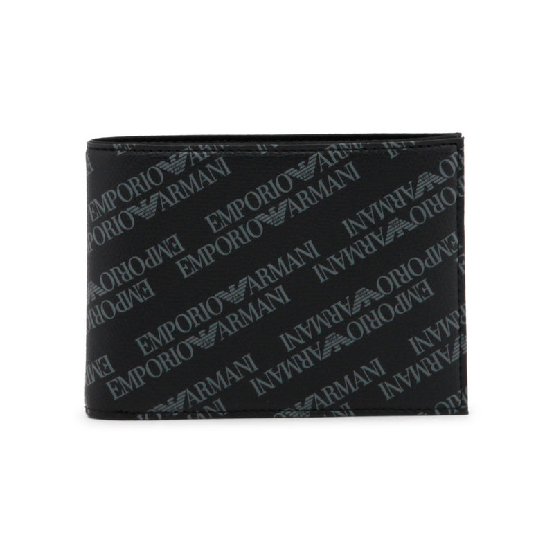 Emporio Armani Men's Black Wallet Y4R166_YLO7E