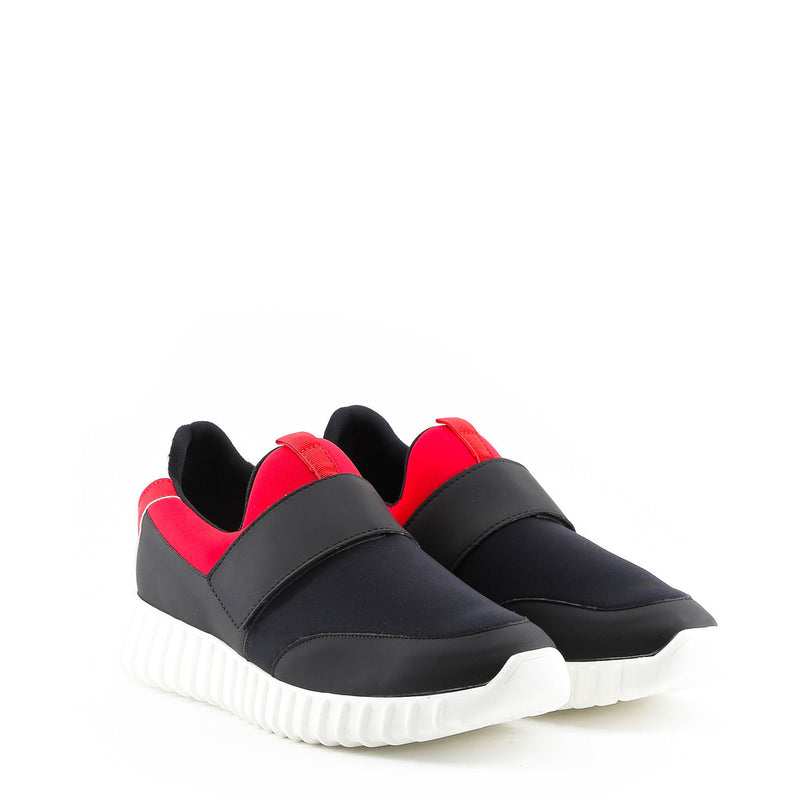 Made in Italia Men's Trainers Red/Black/Grey LEANDRO.