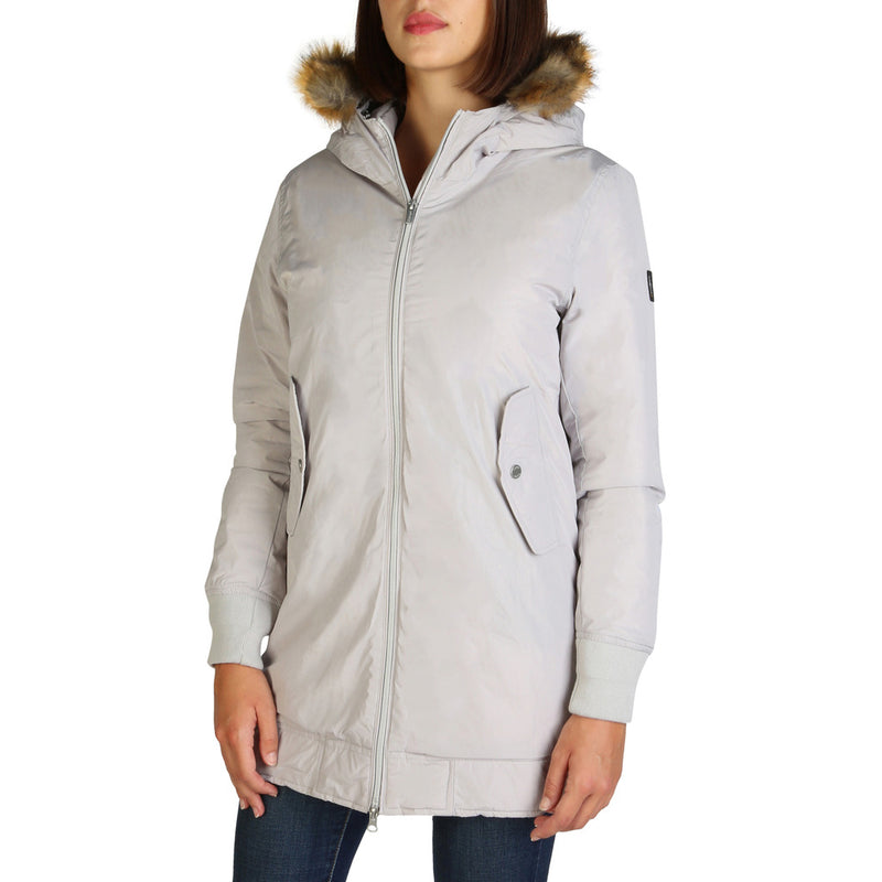 Refrigue Women's Bomber Jacket Grey ELY-A