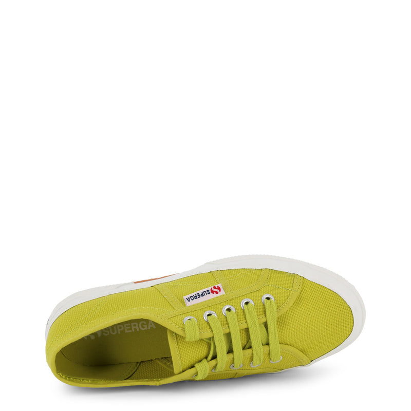 Superga Green Women's Trainers 2750-COTU-CLASSIC