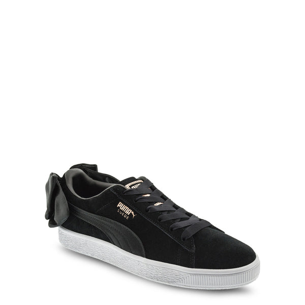 Puma Women's Trainers Black 367317-SuedeBowB