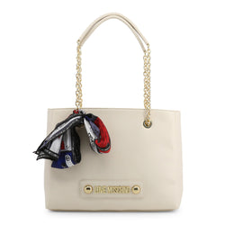 Love Moschino Shoulder Bag White JC4220PP08KD