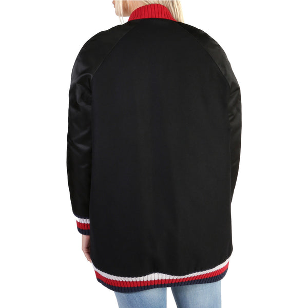 Tommy Hilfiger Women's Jacket Black WW0WW19882