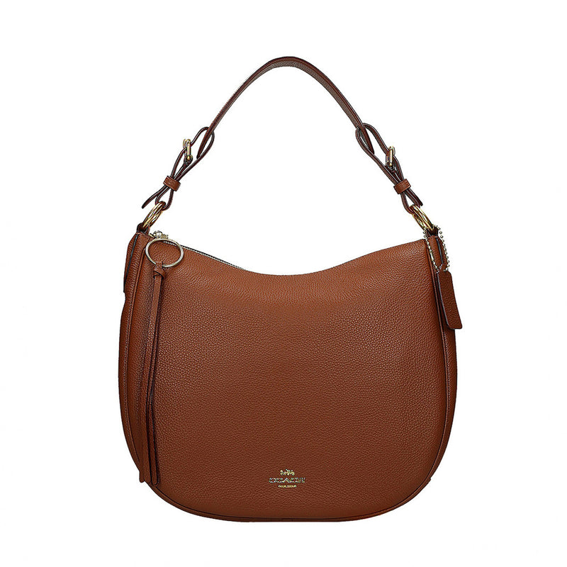 Coach Sutton Hobo Shoulder Bag Brown 35593