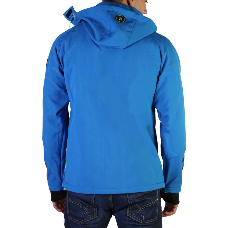 Geographical Norway Men's Jacket Blue Tranco_man