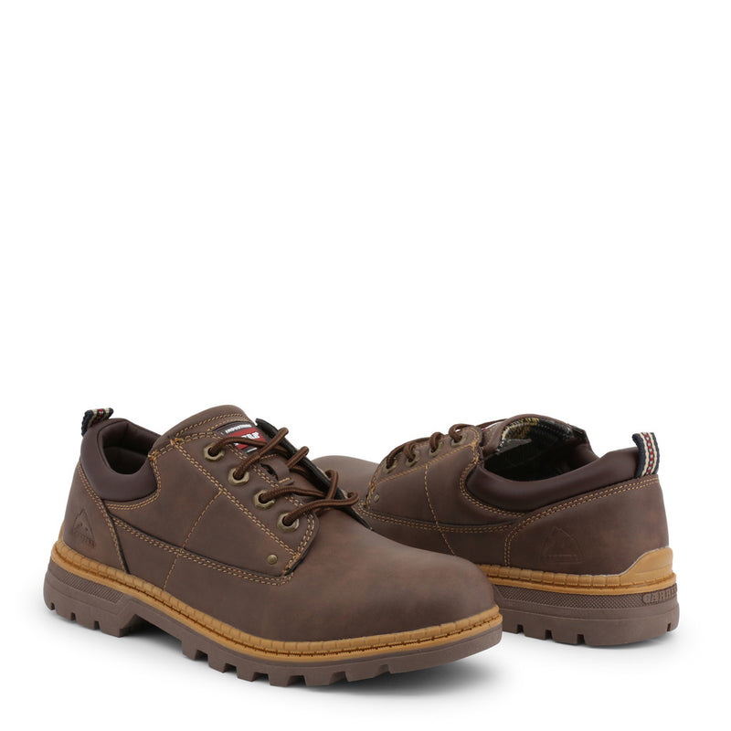 Carrera Jeans Men's Lace Up Shoes Brown CAM921030