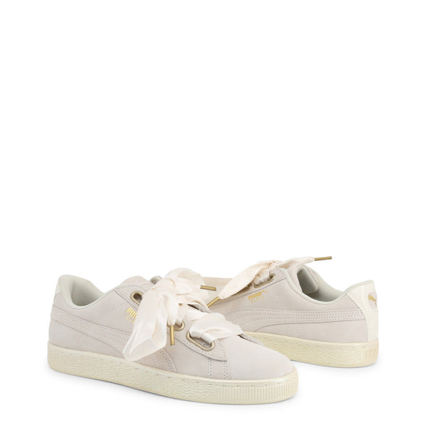 Puma Women's Trainers White / Beige 362714-SuedeHeart