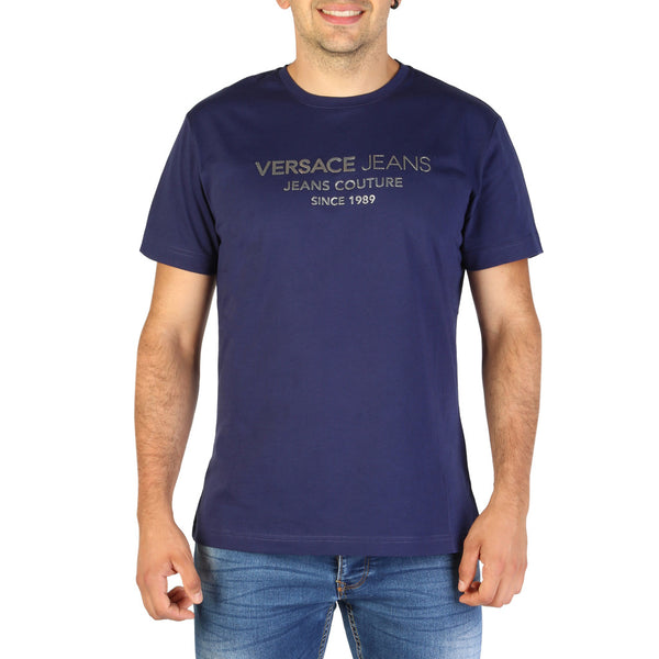 Versace Jeans Men's T-Shirt B3GTB73E-36598 Blue