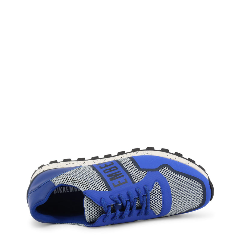 Bikkembergs Mens Trainers Blue FENDER-2084