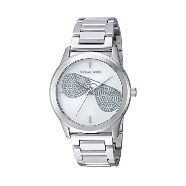 Michael Kors Ladies Silver Watch MK36