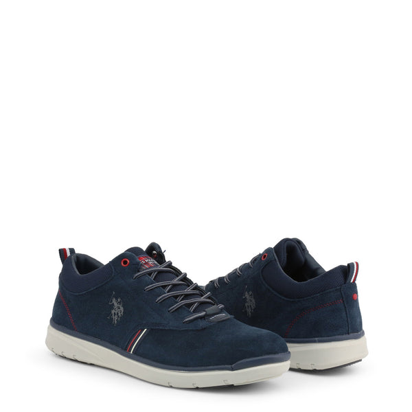 U.S. Polo Assn. Men's Lace Up Shoes Blue YGOR4125W9_S1