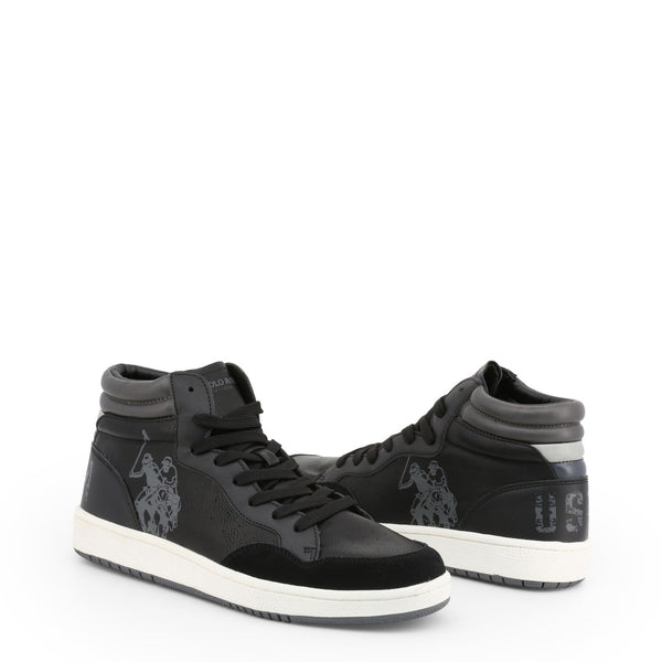 U.S. Polo Assn. Men's Trainers Black ALWYN4116W9_YS1