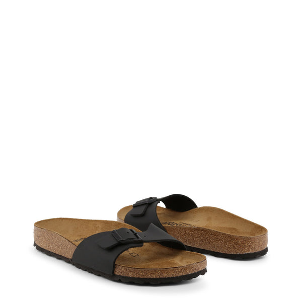 Birkenstock Sandals - Madrid Birko Flor Black 040793