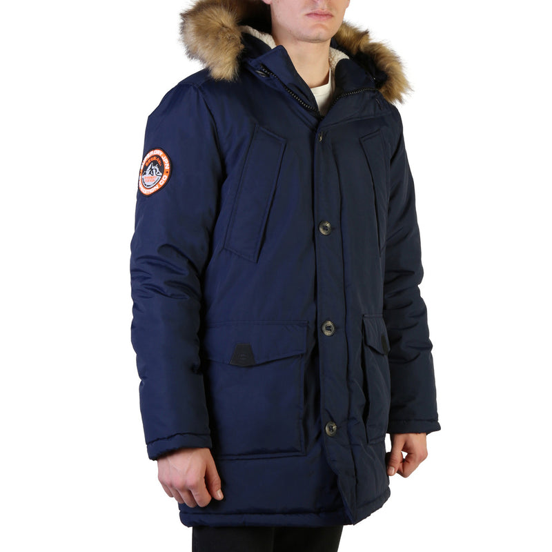 Superdry Men's Everest Parka Navy M5000040A