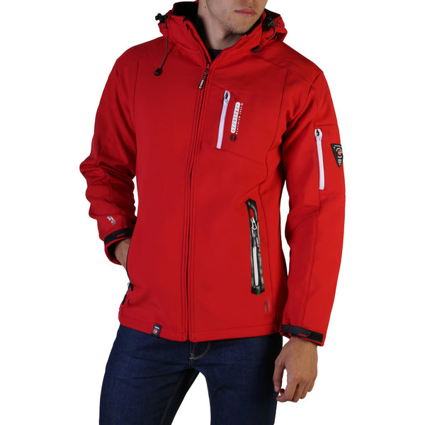 Geographical Norway Men's Jacket Red Tichri_man