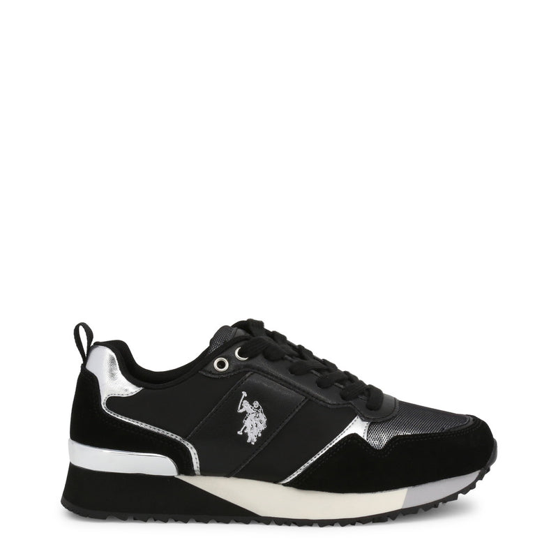 U.S. Polo Assn. Women's Trainers Black FRIDA4103W8_NS1