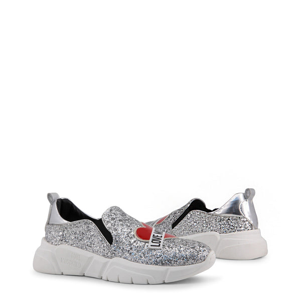 Love Moschino Grey Women's Trainers JA15083G16IG