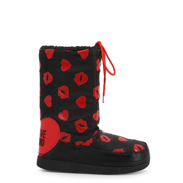 Love Moschino Snow Boots Black / Red JA24092G18IQ