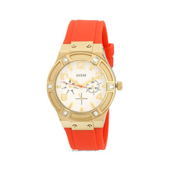 Guess Ladies Orange Watch W0564