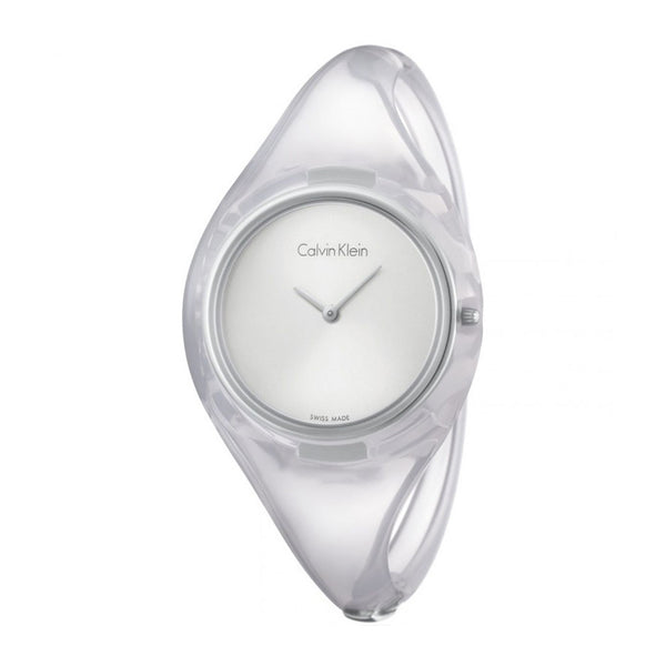 Calvin Klein Ladies White Watch K4W2SX