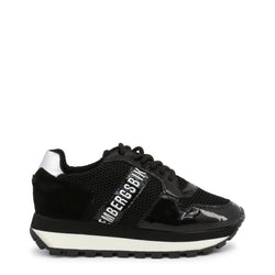 Bikkembergs Womens Trainers Black FENDER-2087-MESH