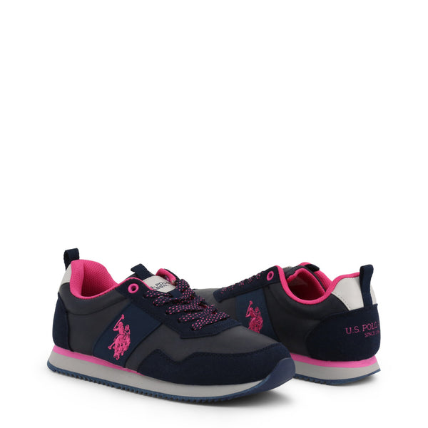U.S. Polo Assn. Women's Trainers Black NOBIW4156S9-YS1