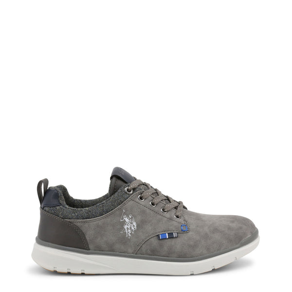 US Polo ASSN Mens Trainers Grey YGOR4082W8
