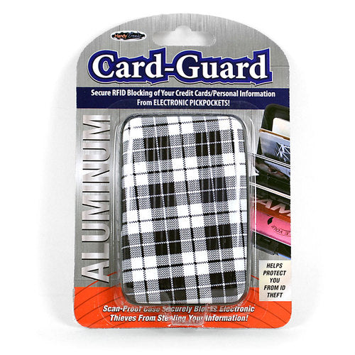 Aluminium Card-Guard Kortholder - Tartan - Kortholder - Card Guard - the-prince-webshop