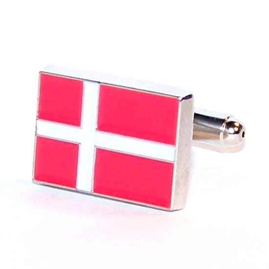 Manchetknapper Dannebrog-Creative Cufflinks-Manchetknapper-The Prince Webshop