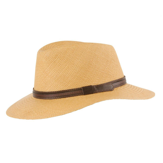 MJM Dude Panama Hat - Biscotto