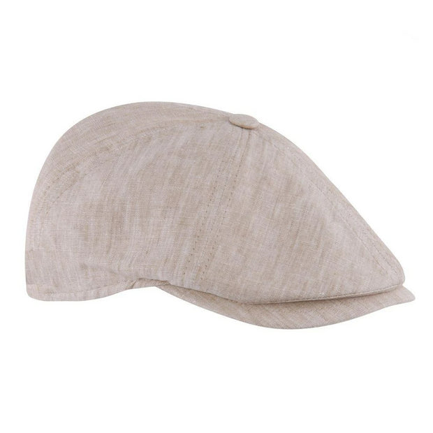 MJM Rebel Sixpence - Organic Light Beige-MJM Hats-Hat-The Prince Webshop