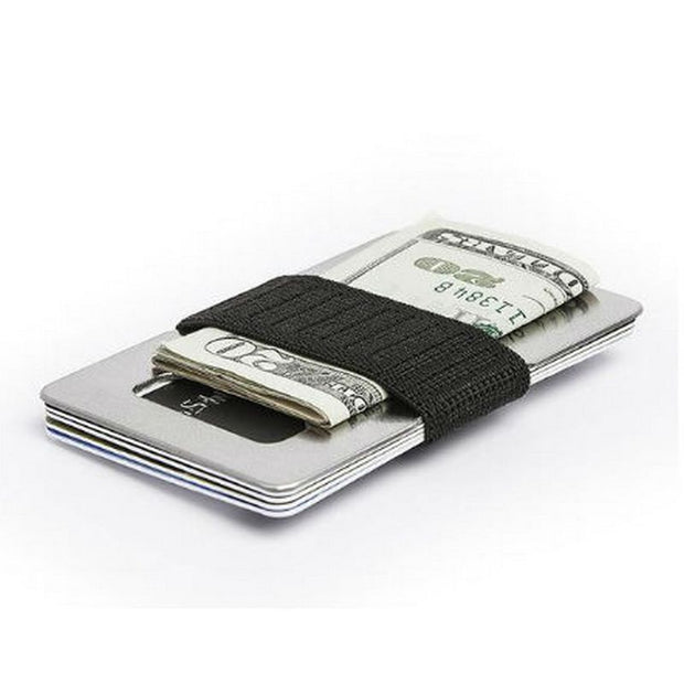 SPINE Wallet Titanium Kortholder & Pengeclips Industrial-Spine Wallets-Kortholder-The Prince Webshop