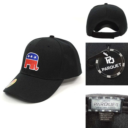 Baseball Cap US Election Republican Elephant - Baseball Cap - Parquet - the-prince-webshop