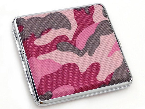 Camo Cigaret Etui - 20 King Size - Pink - Cigaret Etui - The Prince's Own - the-prince-webshop