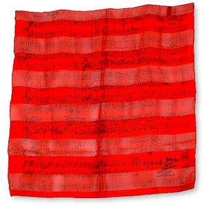 You added <b><u>Foulard Mozart Rød</u></b> to your cart.