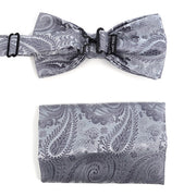Party Sæt - Charcoal Paisley - Smoking Sæt - Umo Lorenzo - the-prince-webshop