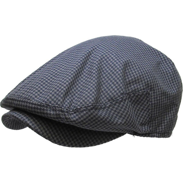 Grå City Boy Houndstooth Sixpence-Ethos-Hat-57 cm (S/M)-The Prince Webshop