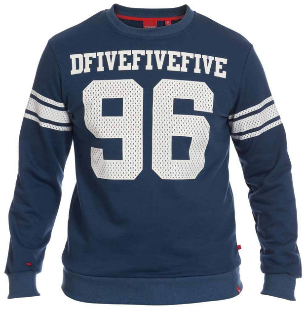 Hutton 96 Crew Neck Sweatshirt LT -  - D555 - the-prince-webshop