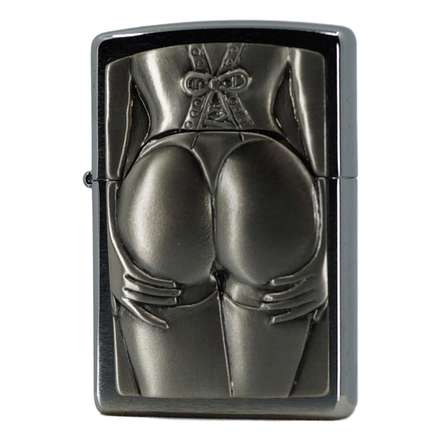 Original Stocking Girl Zippo Lighter