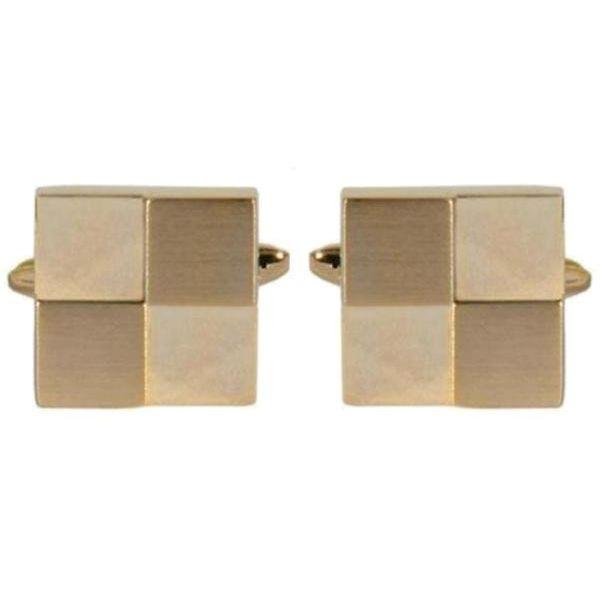 Manchetknapper Four Squares Guld - Manchetknapper - The Armitage Collection - the-prince-webshop