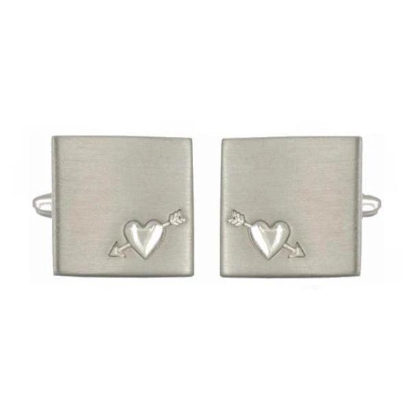Manchetknapper Heart & Arrow-The Armitage Collection-Manchetknapper-The Prince Webshop