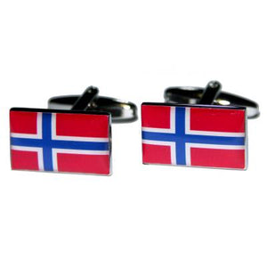You added <b><u>Manchetknapper Norges Flag</u></b> to your cart.