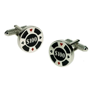 You added <b><u>Manchetknapper Poker Chip</u></b> to your cart.