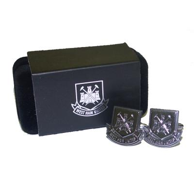 Manchetknapper Premier League - West Ham United FC - Chrome - Manchetknapper - Premier League - the-prince-webshop