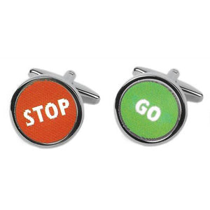 You added <b><u>Manchetknapper Stop / Go</u></b> to your cart.